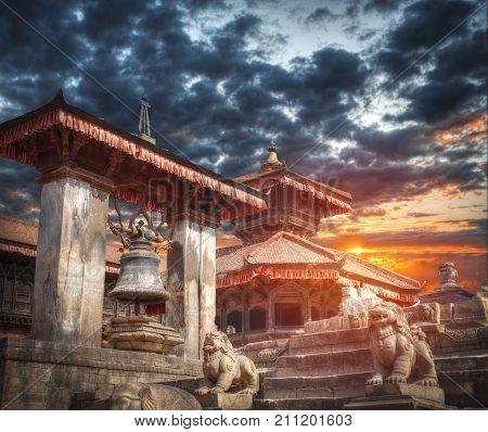 Durbar Square In Bhaktapur