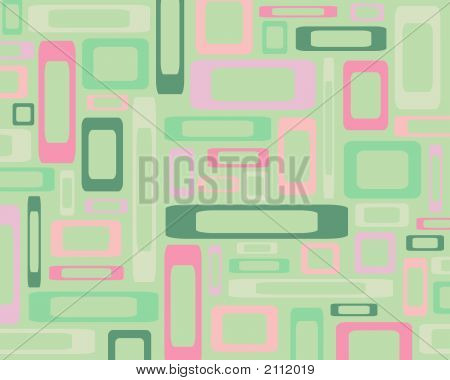 Green And Pink Rectangles