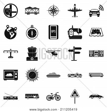Progressive technology icons set. Simple set of 25 progressive technology vector icons for web isolated on white background