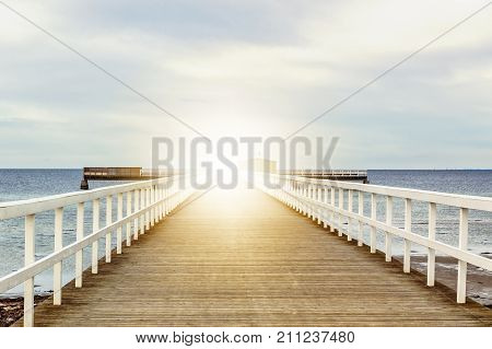 Walkway to heaven. Religion philosophy and psychology items. Retro stale