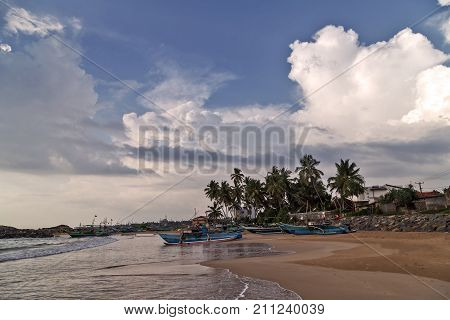 Sri Lanka Fishing Catamarans