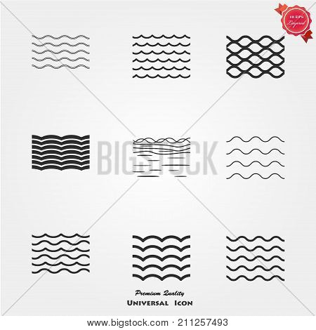 Sea icons, Sea icons vector, Sea icons image, Sea icons illustration