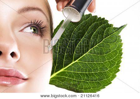 organic cosmetic poster