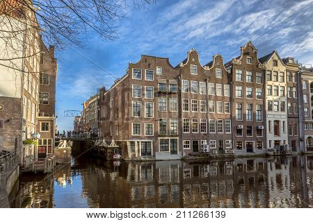 Waterfront Canal Houses Amsterdam
