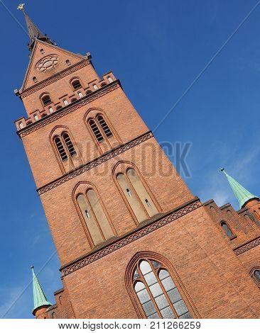 Propsteikirche Herz Jesu Church In Luebeck
