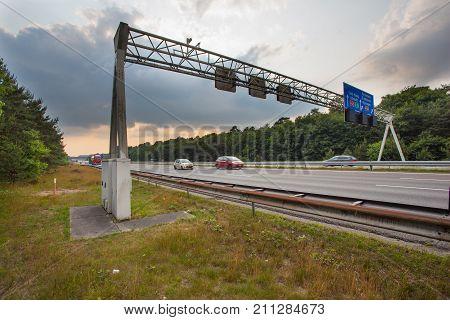 Traffic Sign Gantry