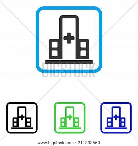 Hospital Complex Icon Vector Photo Free Trial Bigstock