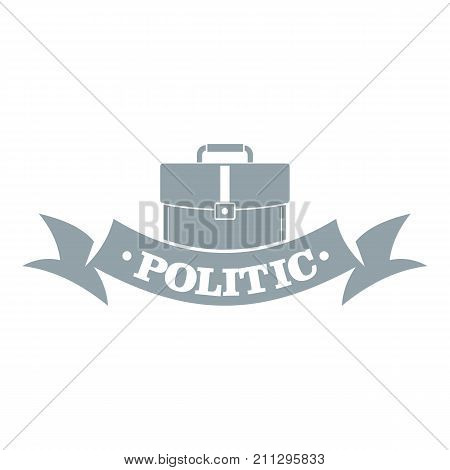 Politic logo. Simple illustration of politic vector logo for web