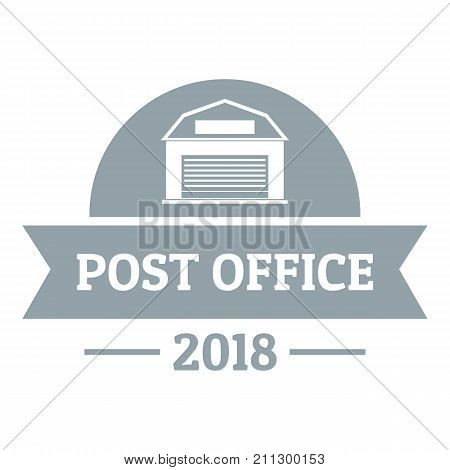 Office post logo. Simple illustration of office post vector logo for web