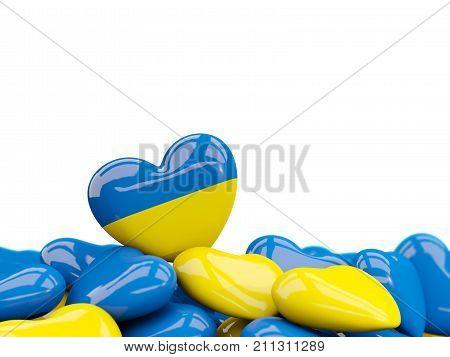 Heart With Flag Of Ukraine