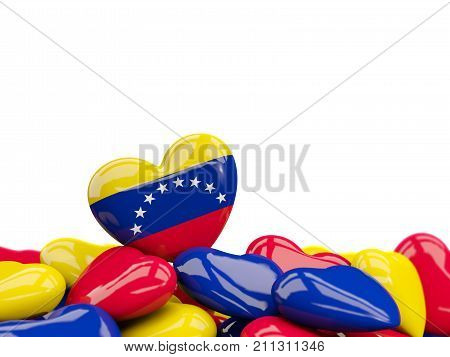 Heart With Flag Of Venezuela