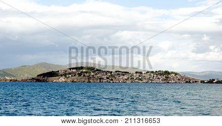 Lake Ohrid In Macedonia