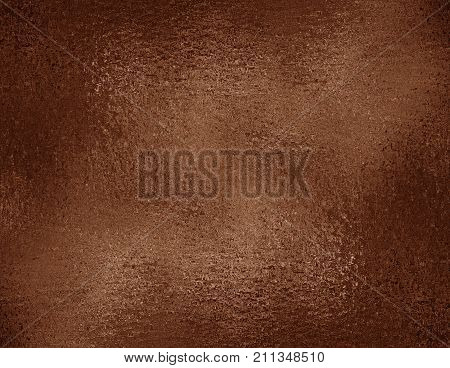 Copper foil textured background. Bronze grunge texture for graphic design wrapping paper sample. Foil texture background. Bronze copper foil texture.