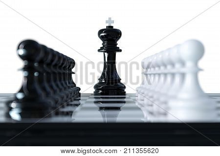Chess Business Concept