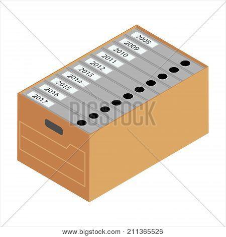 Archive Cardboard Box
