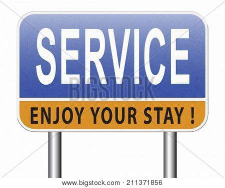 service sign online help and support client or customer service   3D, illustration