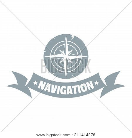 Navigation logo. Simple illustration of navigation vector logo for web