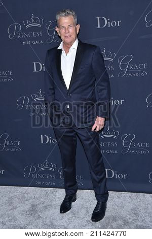 LOS ANGELES - OCT 25:  David Foster arrives for the Princess Grace Awards Gala 2017 on October 25, 2017 in Beverly Hills, CA