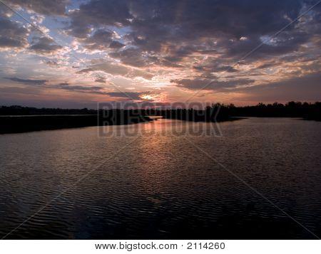 Lake Margin Dawn