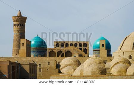 Old Town In Bukhara