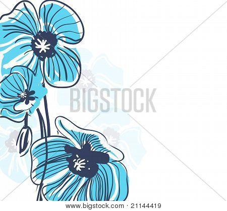 Blue Elegance Background