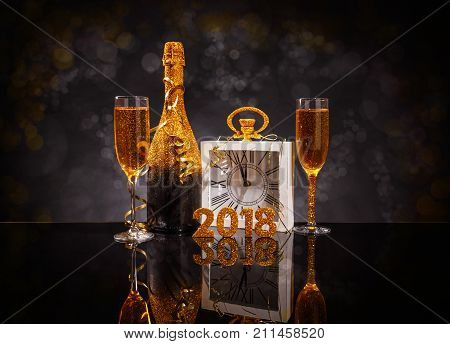 2018 New Year Concept