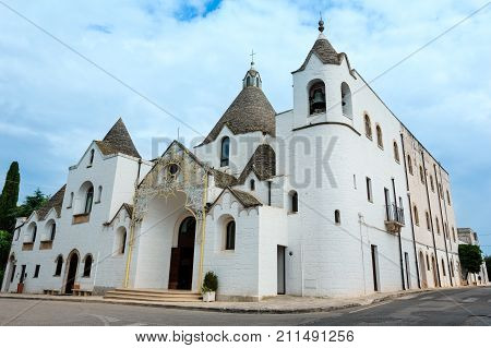 Church In Alberobello, Italy