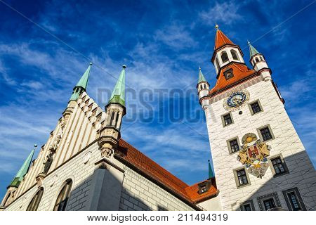 Old Town Hall (Altes Rathaus). Munich, Bavaria, Germany
