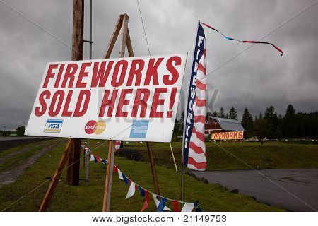 Fireworks Signs
