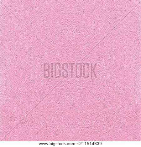 Pink Leatherette Texture Background