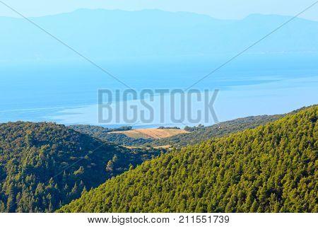 Athos Peninsula Shore(halkidiki, Greece).