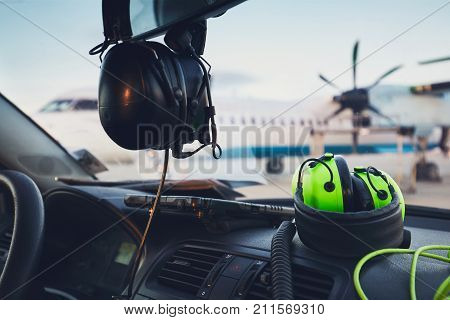 Headphones Of The Ground Staff