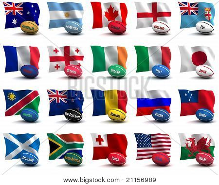 Participating Teams Of The Rugby World Cup 2011