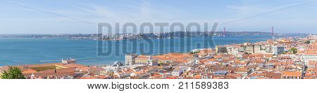 Cityview Of Lisboa Panorama