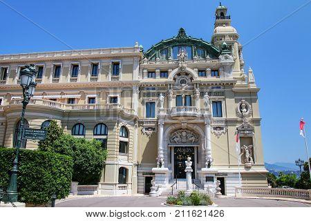 Salle Garnier - Home Of The Opera De Monte Carlo In Monaco
