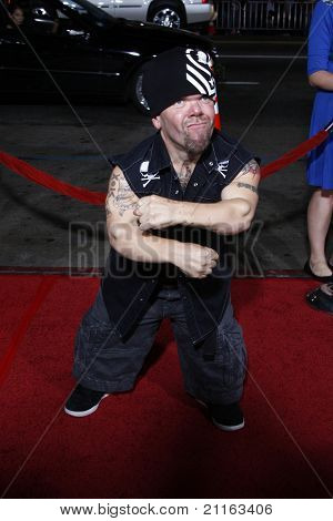 LOS ANGELES - APR 10: Puppet, leader of Half Pint Brawlers at the Jackass 3D premiere held at Grauman's Chinese Theater in Los Angeles, California on April 10, 2010