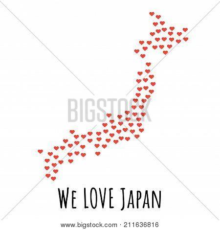 Japan Images Illustrations Vectors Japan Stock Photos Images - Japan map red