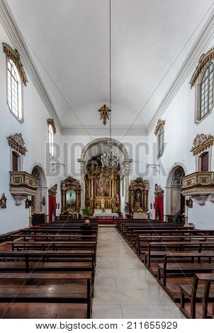 Interior Of The Saint Bartholomew Church