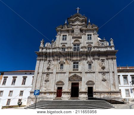 New Cathedral Of Coimbra, Portugal
