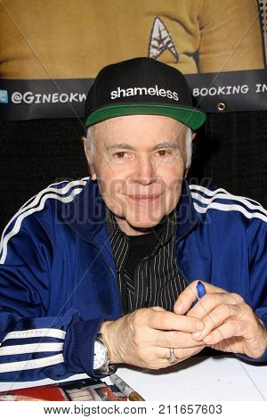 Walter Koenig attends the annual Stan Lee's Los Angeles Comic Con 2017 Expo at the Los Angeles Convention Center on Oct. 28, 2017.