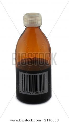 Bottle With Bar Code