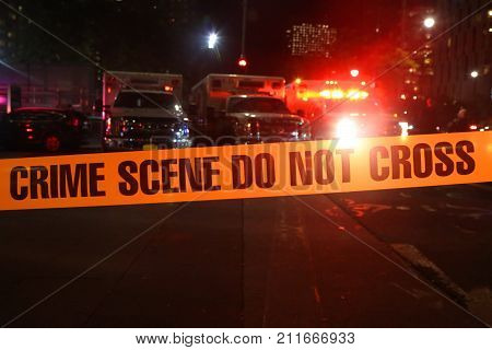 Crime Scene Do Not Cross police tape