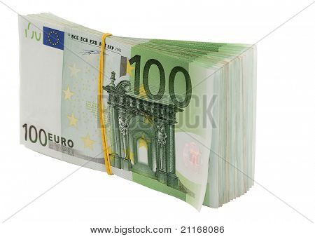 Euro. Isolated.