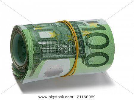 Rodillo euro. Aislado