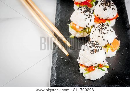 Mini Sushi-burgers