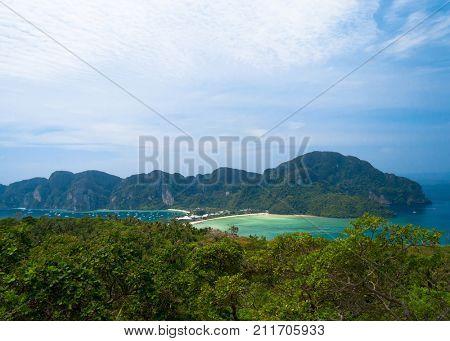 High Viewpoint Azure Bay
