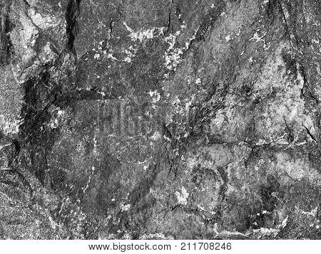 Stone Background Of Mottled Granite Igneous Rock Used In Construction, As A Finishing Material For K