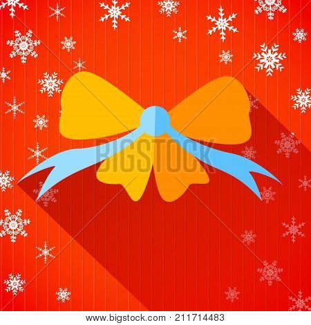 Happy New Year and Merry Christmas. Vector Illustration, eps10, contains transparencies.