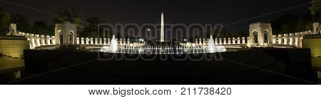 Moon Over The Monuments