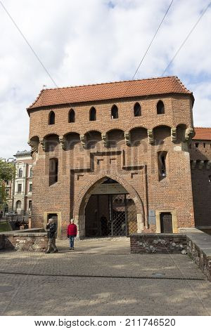 The Best Preserved Barbican In Europe, Poland